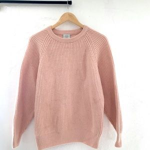 Vintage Partners Mervyns Light Pink Knit Sweater